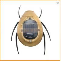 China Business Promotion Moving Solar ABS Cockchafer Gift Toy on sale