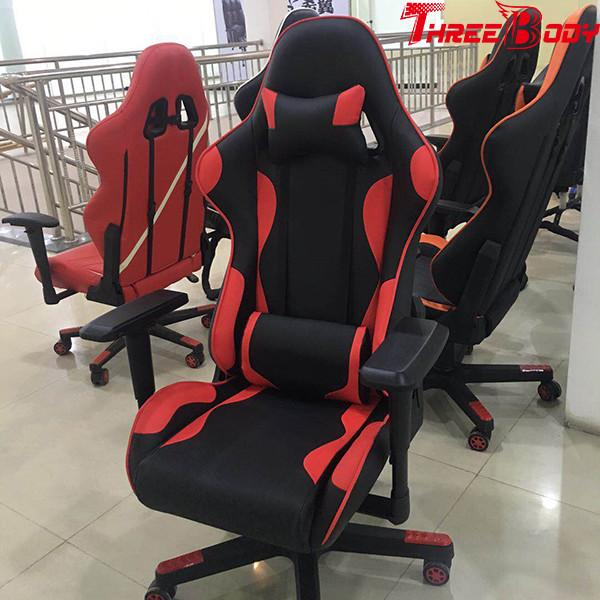 Cool Adult Computer Leather Gaming Chair With Wheels Height Bralicious Painted Fabric Chair Ideas Braliciousco