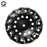 China 7 Diamond grinding cup wheels for shaping of marble and granite surface on sale