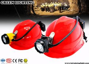 China Ultra Bright Rechargeable LED Hard Hat Light on sale
