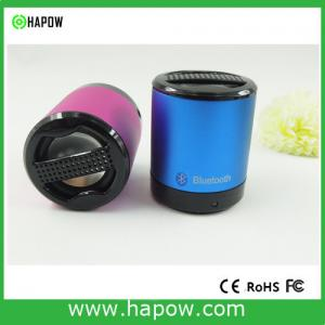 China Aluminum Housing Portable Bluetooth Speakers , Rechargeable Bluetooth Speaker HS-BT5 on sale