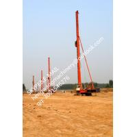 TOP China manufacture, KR125M CFA long spiral Drilling machine, Hydraulic rotary piling rig