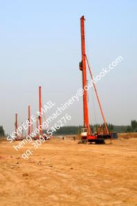 China TOP China manufacture, KR125M CFA long spiral Drilling machine, Hydraulic rotary piling rig on sale