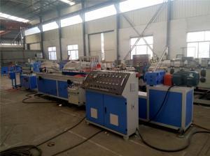 China Plastic Profile Extrusion Line , PVC Window Profile Production Line on sale
