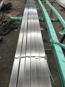 China 304L 10*10*6000mm Stainless Steel Square Bar Hairline Polished Cold Rolled on sale