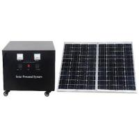 China 800W portable home off grid solar power systems with 12V / 400AH Lead-acid battery on sale