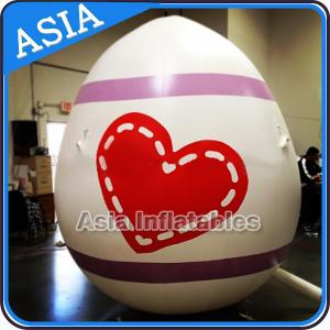 China Egg Shape Helium Balloon And Blimps Inflatable Easter Balloons Customized Large on sale