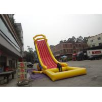 Exciting Fire - Resistant Water Inflatable Rentals /  Inflatable Pool Slide For Beach