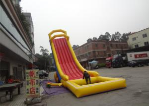 China Exciting Fire - Resistant Water Inflatable Rentals /  Inflatable Pool Slide For Beach on sale