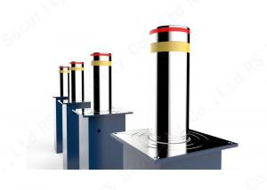 China K4 Traffic Barrier Road Blocker 219mm Hydraulic Rising Bollards on sale