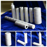 PP String Wound Filter Cartridges with Ss Core or PP Core for water treatment