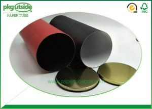 Quality 100% Recyclable Round Craft Paper Tube Box Food Grade For Tea Packaging for sale
