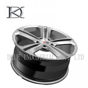 China Forged VW Replica Wheels Rims 18 Inch Hyper Black Machine DOT VIA Certifications on sale