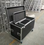 Black Lowest Cubic Meter Of 3 In 1 Flight Aluminum Tool Cases Easy To Moving