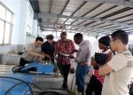 Light Model Conveyor Belt Joint Machine For Building Materials Delivery