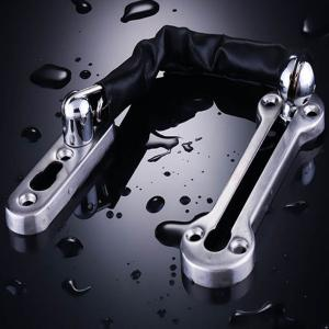 China Anti - Theft Hotel Door Fittings , Thicken Stainless Steel Door Chain Latch on sale