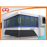 Single Table Enclosed CNC Fiber Laser Cutting Machine For Metal Cutting 12mm