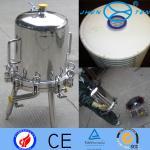 Inox Lenticular Sanitary Filter Housing Washable Import Export Cartridge