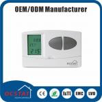 Weekly Programmable Manual Override Mode Digital LCD Display Thermostat