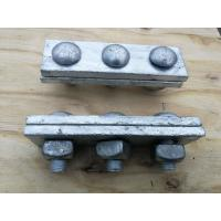 Anti Rust Power Line Fittings Hot Dip Galvanized Steel Cable Strand Messenger Clamp