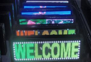 China Full Color LED Sign on sale
