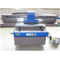China Automatic Height Adjustment UV Flatbed Printer CMYK / CMYKLc Lm / White Color on sale