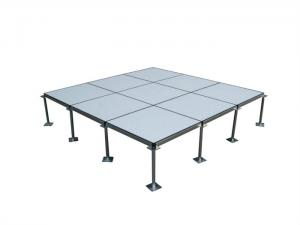 China Custom Normal Anti Static Pvc Flooring , Server Room Raised Floor System on sale