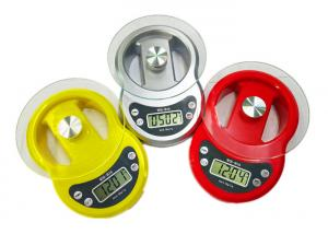 China Round Shape Tempered Glass Digital Scale With Piece Counting Function on sale
