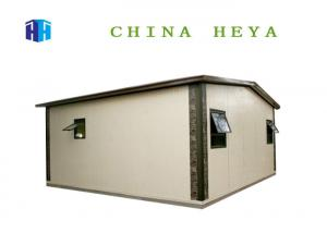 China Villa Construction Movable Prefab House 3 Bedroom Modular Home Steel Frame on sale