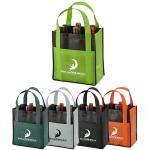 Custom Non Woven Shopping Bags & Totes,Non woven wine bags, wine bottle carrier bags