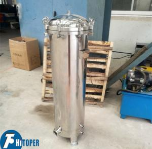 China Water Purification Cartridge Filter Housing With PP Filtration Element on sale