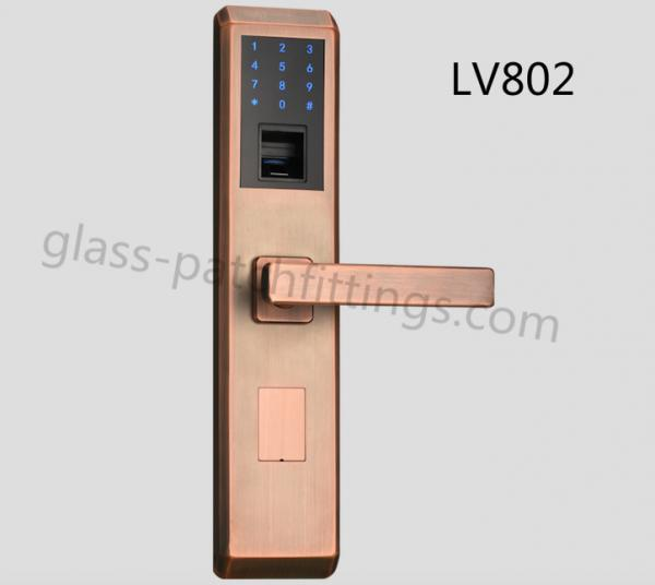 Smart Home Fingerprint Door Lock Operating Temperature -20