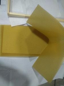 China pure natural beeswax comb foundation sheet on sale
