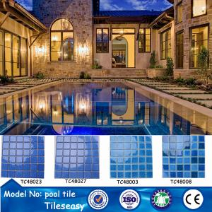 China low price ceramic mosaic swimming pool tiles for sale pools on sale