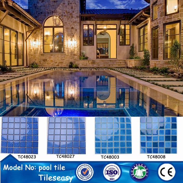 low price ceramic mosaic swimming pool tiles for sale pools ...