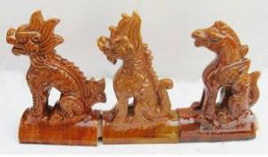China Roofing Ornaments Animals on sale