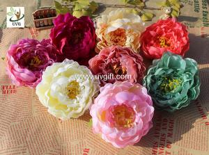 China UVG cheap faux floral arrangements exotic silk penoy artificial wedding flowers for indian wedding decorations FPN117 on sale