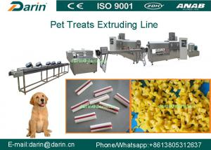 China Dental Care Dog Chewing Bones Pet Snack Food Extruder Processing Equipment on sale