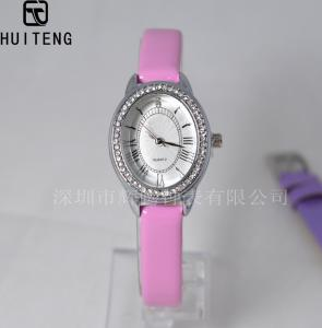 China PU Strap Watch Alloy Quartz Watch Bee Ladies' Watches, OEM fashion watch Promotion watches on sale