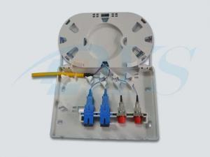 China FTTH 4 port Mini Fiber optic termination box,FTTH box on sale
