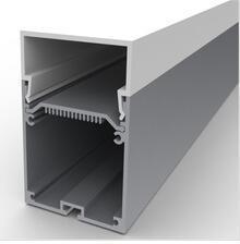 China Standard 6063 T5 Led Aluminium Channel / Led Strip Light Profile Max 34mm Width on sale