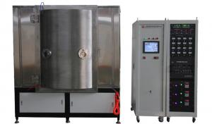 China PVD Plating Glass Coating Machine TiC Deep Black Coating By Arc Evaporation on sale