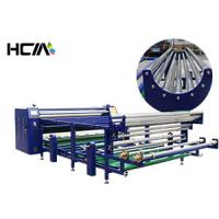 Table Cloth Roll To Roll Sublimation Heat Transfer Press Machine High Efficiency