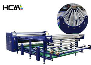 China Table Cloth Roll To Roll Sublimation Heat Transfer Press Machine High Efficiency on sale