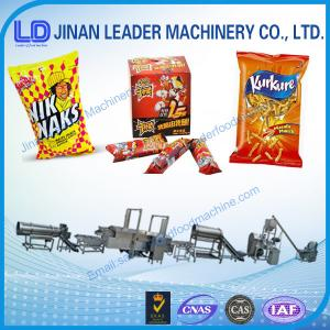 China cheetos and corn curls process line on sale