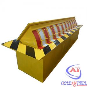China Heavy Duty Fully Automatic Security Road Blocker IP54 Steel Vehicle Barriers Security on sale