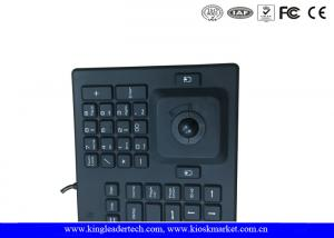 Quality Norway Layout Silicone Waterproof Keyboard With Trackball And Customizable for sale