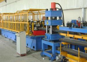 China 2 ,3 Wave W Beam Highway Guardrail Roll Forming Machinery  Prodcution Line on sale