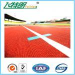 Modèles en caoutchouc de piste de projet de simplicité de plancher d'exercice de voie faite sur commande d'athlétisme