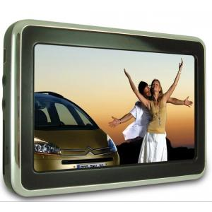 China 12V Muti Languages 4.3 Touch Screen GPS Car Navigation / Navigators With Picture Viewer on sale